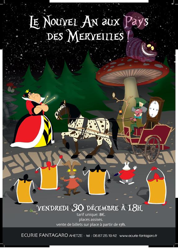 7dd463fb5ab spectacle équestre le nouvel an aux pays des merveilles écuries-fantagaro  ahetze