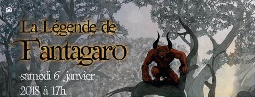 spectacle écurie fantagaro, la légende de fantagaro, spectacle équestre 6 janvier 2018, 64210 ahetze