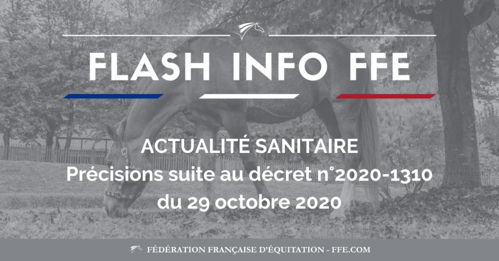 Crise Sanitaire Ffe Confinement Octobre 2020 Ecurie Fantagaro